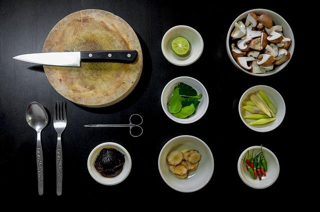 příprava potravin na vaření