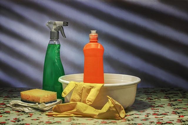 potřeby na čištění