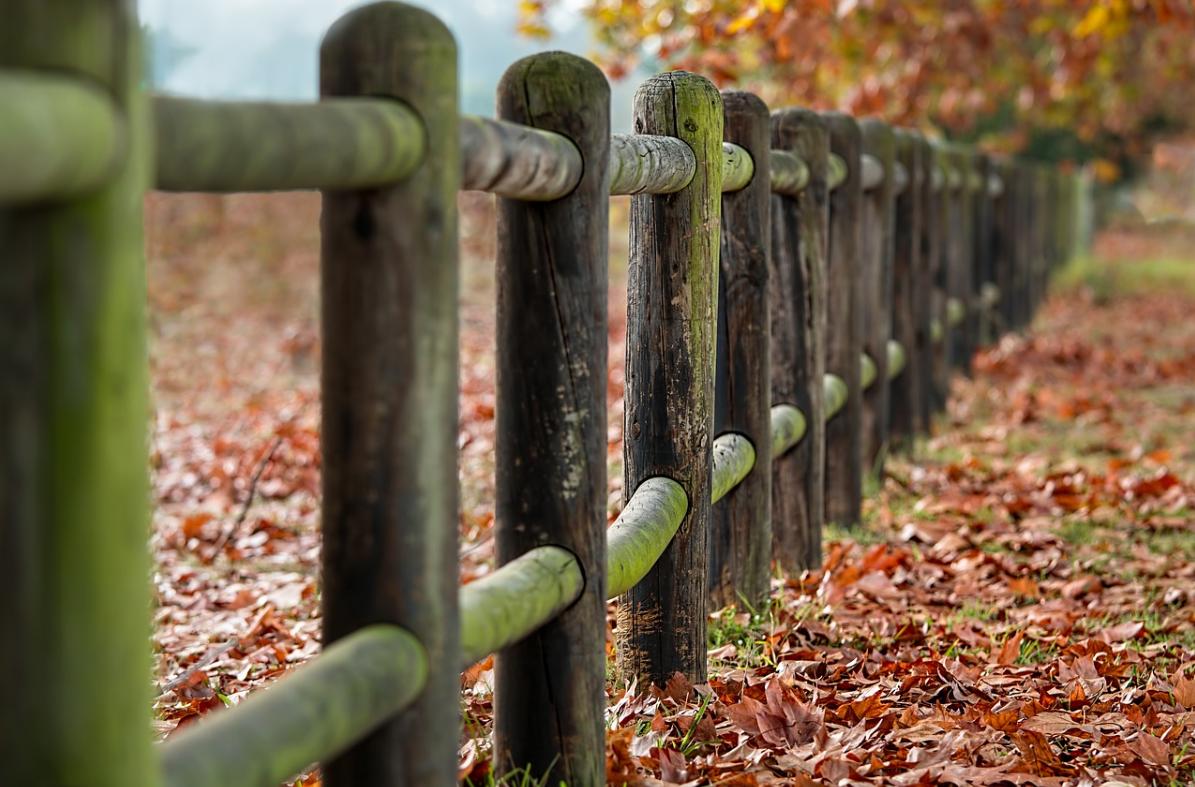 sloupkový plot