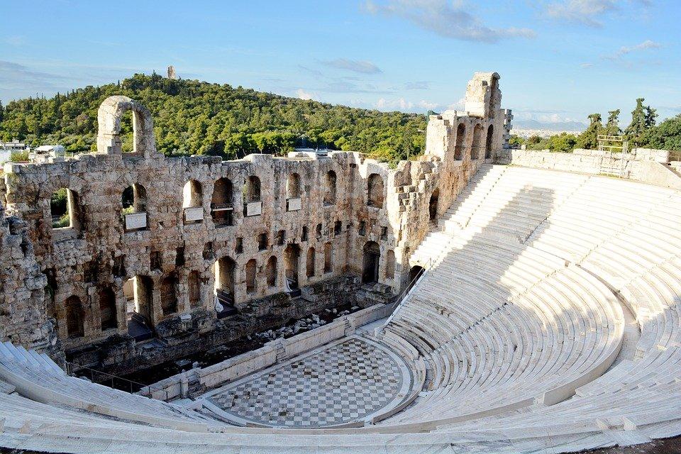 staré řecké divadlo