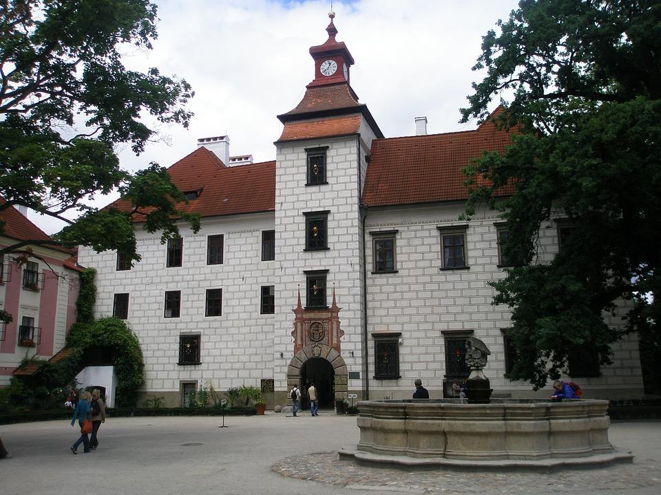 zámek v Třeboni